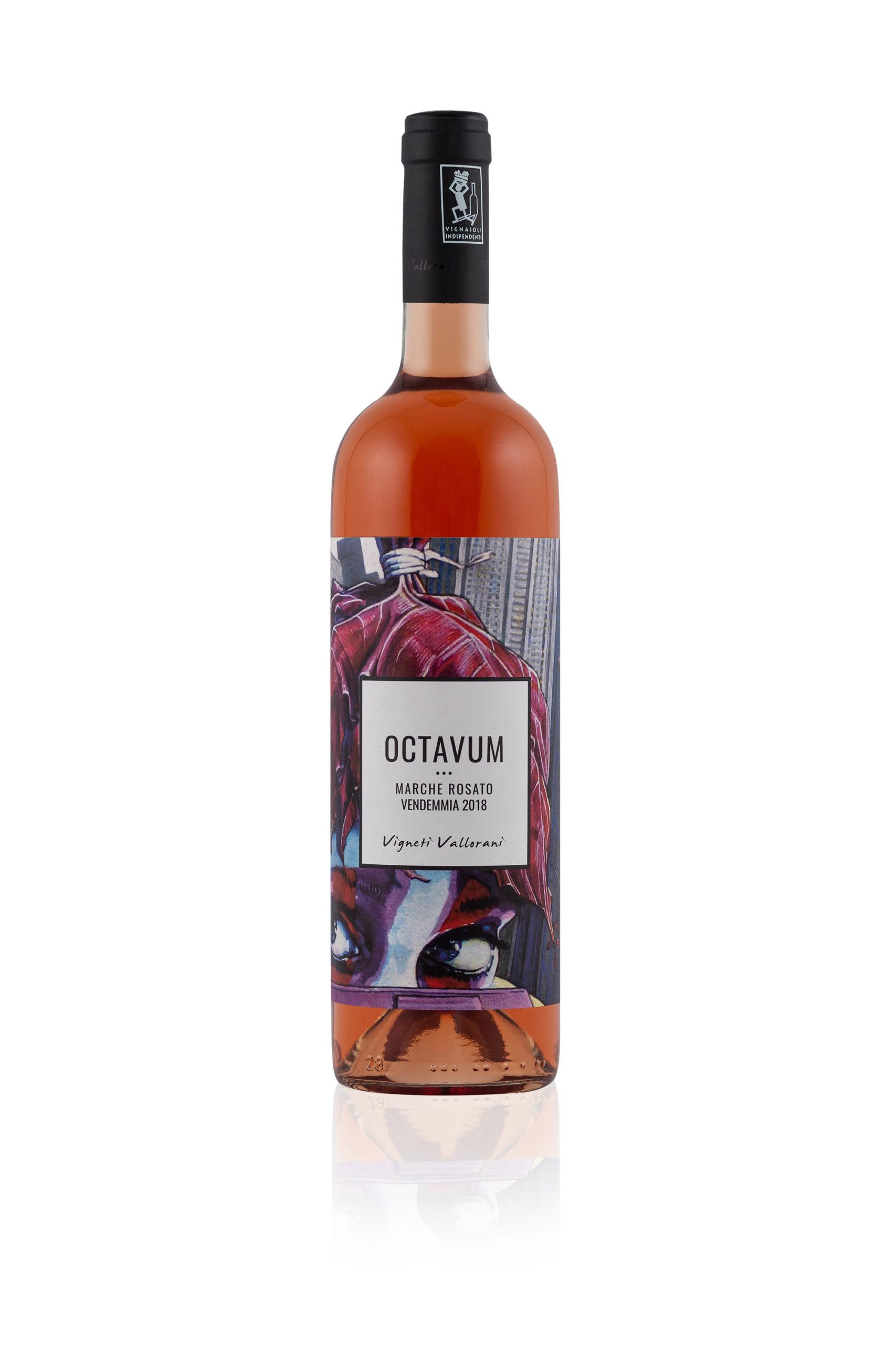 Octavum, Marche rosato BIO